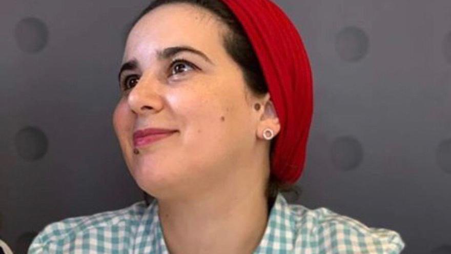 La periodista Hajar Raissouni.