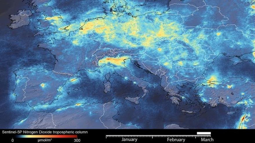 El bloqueo en Italia por el coronavirus mejora la calidad del aire