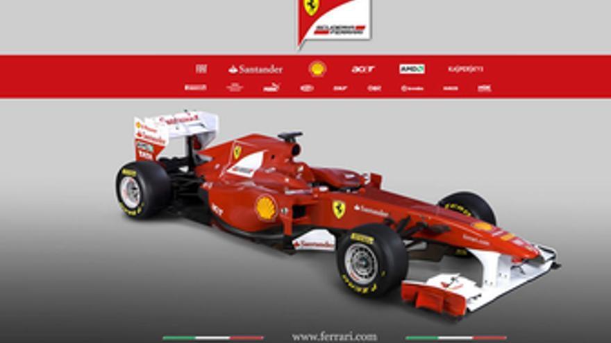 Ferrari F150, nuevo monoplaza de Fernando Alonso