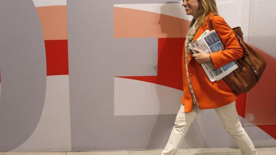 Chacón hace un llamamiento a la participación masiva en las primarias del PSOE