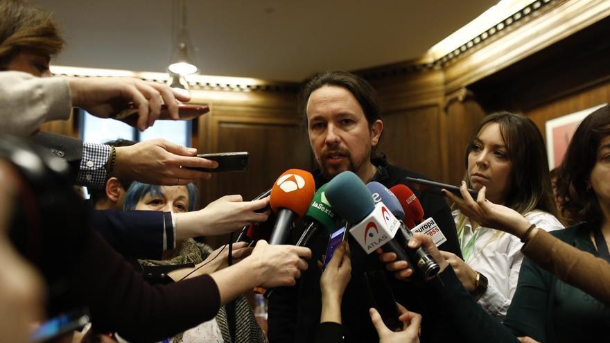 """Iglesias, tras las dudas de Errejón sobre su candidatura, avisa de que """"la gente no va a consentir ni media tontería"""""""