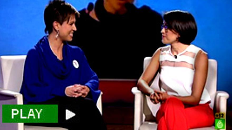 """""""Beatriz Talegón y Ada Colau, de tour por la TV, acuden juntas a laSexta Noche"""""""
