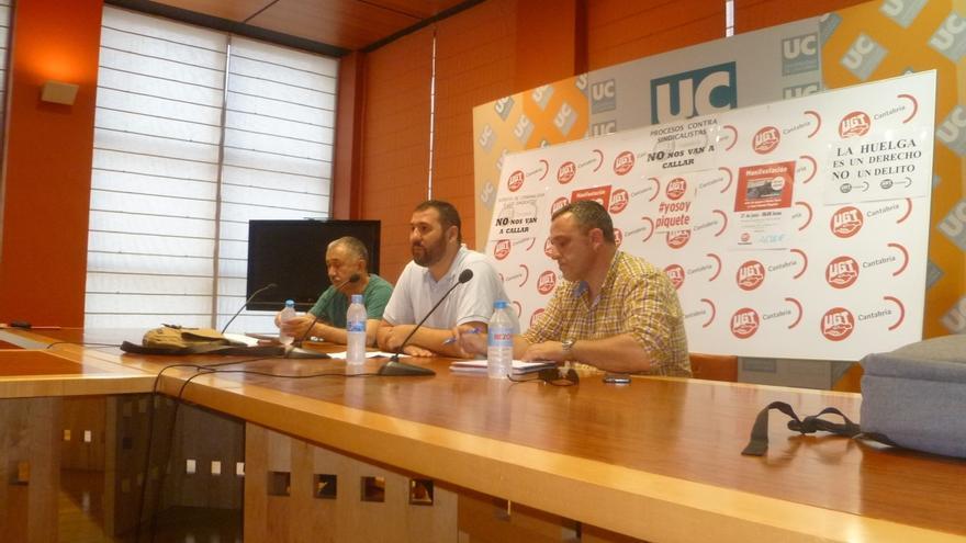 """Álvarez (UGT) apela a defender a los piquetes informativos porque sin ellos """"hoy no habría libertades y derechos"""""""