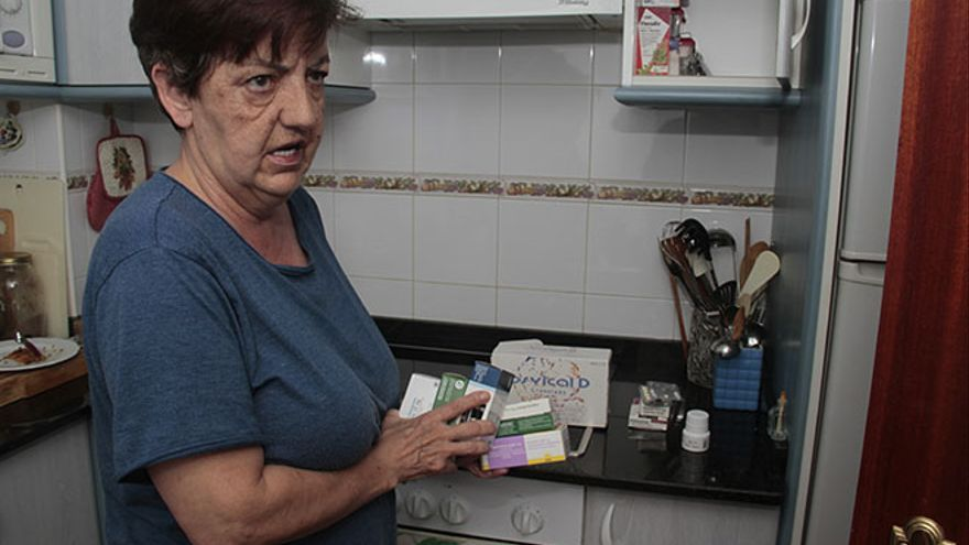 Carmen Vázquez, camarera de piso