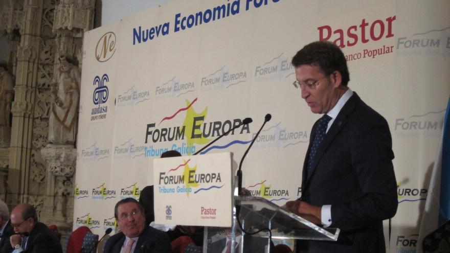 """Feijóo avala """"reforzar lazos"""" con el PSOE frente al desafío catalán y advierte que Galicia no tolerará """"agravios"""""""