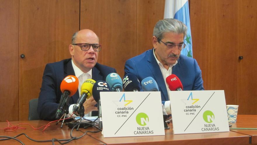Barragán y Rodríguez, durante la rueda de prensa conjunta