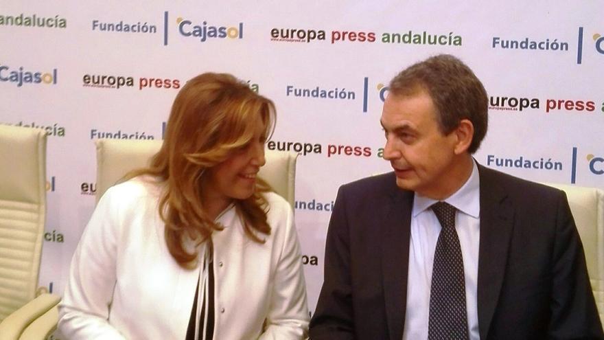 """Zapatero, Madina, Rubalcaba y Puig serán """"embajadores"""" de Susana Díaz en Cataluña"""