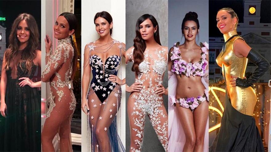 Cristina Pedroche recuerda todos sus vestidos de Campanadas