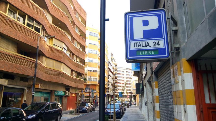 """La calle Italia fue dedicada en Alicante, junto a Alemania y Portugal, a los países """"amigos"""" de la España franquista"""
