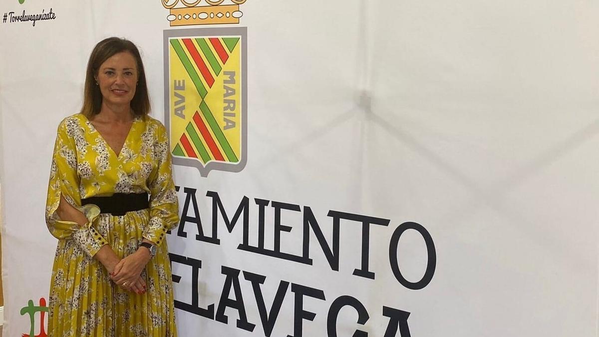 La portavoz del PP en el AYuntamiento de Torrelavega, Marta Fernández Teijeiro.