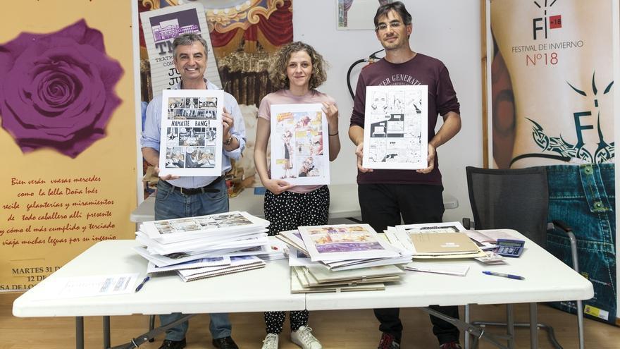 Paula Lavín y Jordi Miguel Puente, ganadores del XXIII Concurso de Cómic 'Ciudad de Torrelavega'