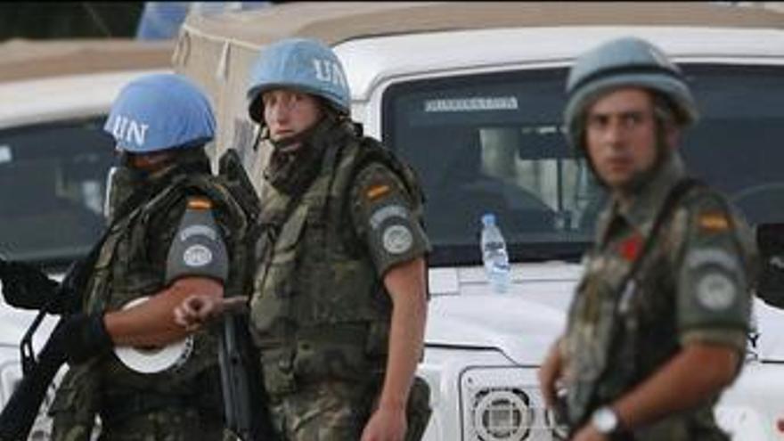 España enviará 200 soldados más a Líbano para acompañar al nuevo jefe de la FINUL