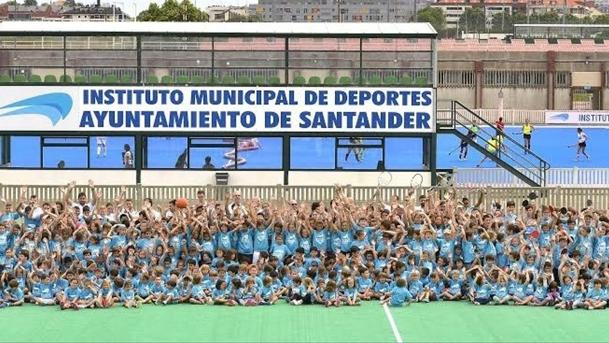 Unos 700 niños participan en la primera quincena de julio en las actividades del IMD