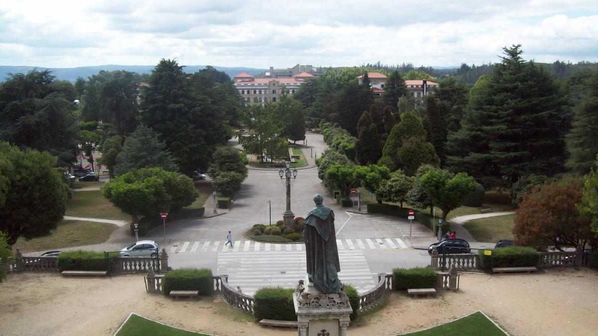 Imagen del campus sur de la Universidade de Santiago de Compostela.