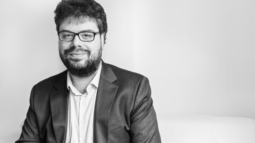 El escritor Sergio del Molino, jurado
