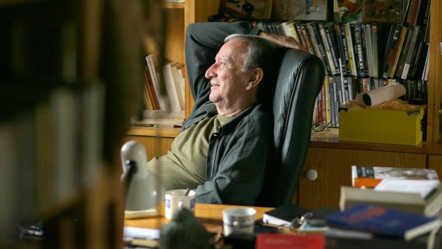 El escritor valenciano Rafael Chirbes