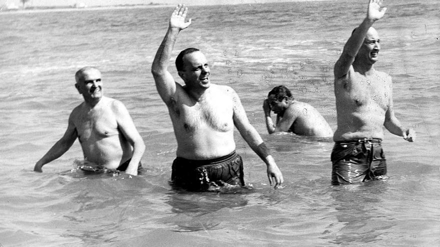 Manuel Fraga en Palomares