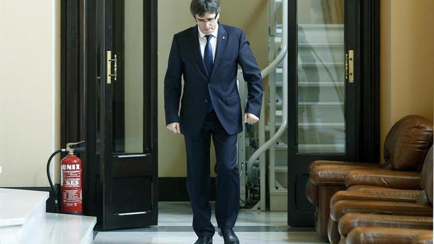 """Puigdemont pide acelerar el proceso: """"Hemos de irnos lo más pronto posible"""""""