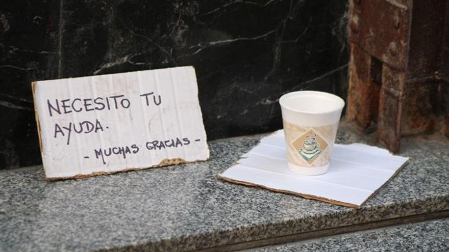"""""""La pobreza en España no se ve porque no se mira, pero existe"""""""