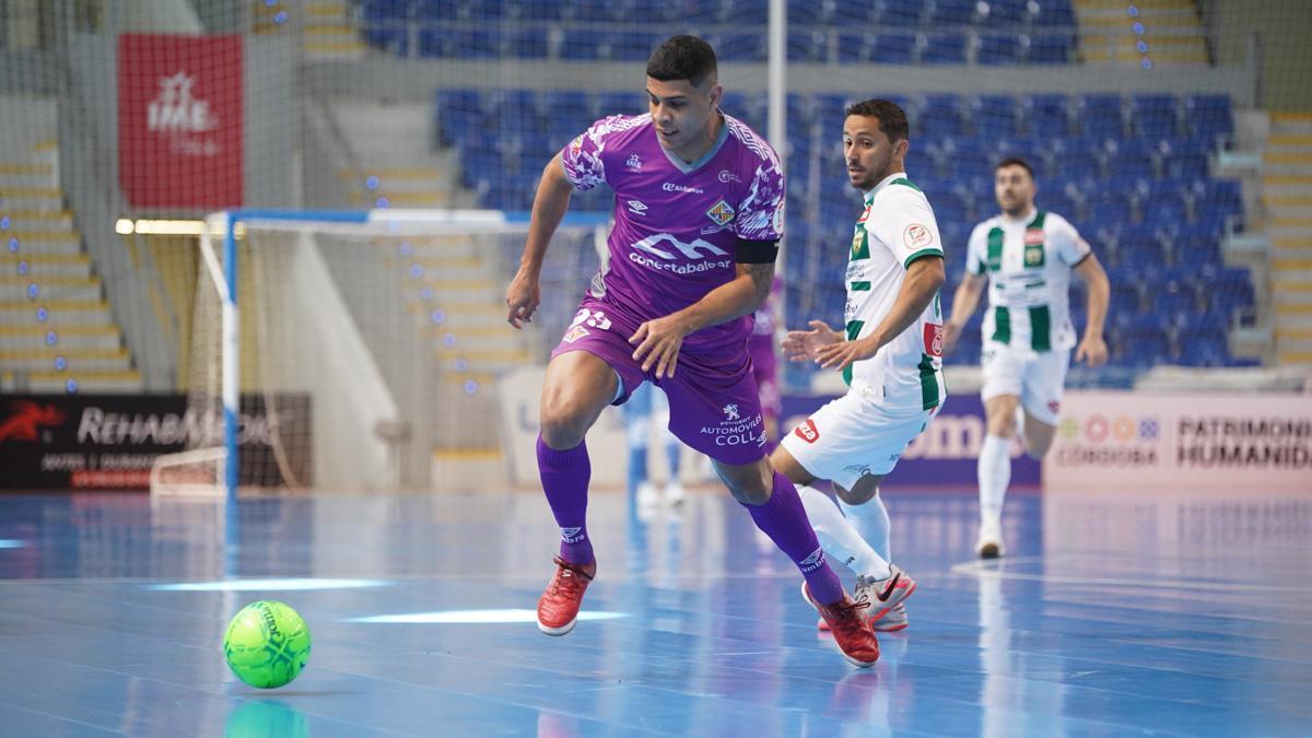 Caio César, en el duelo con el Palma Futsal.