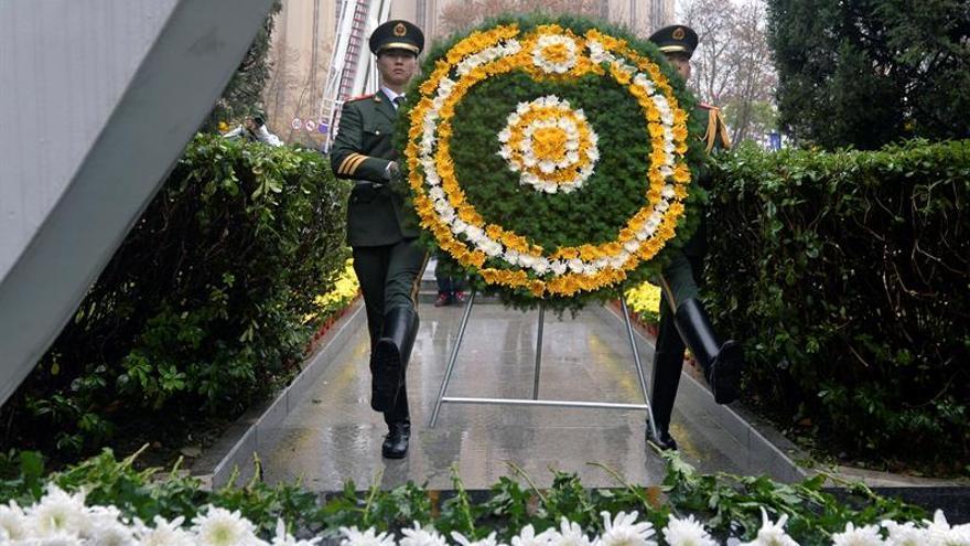 China homenajea a las víctimas de la masacre de Nankín en 79 aniversario
