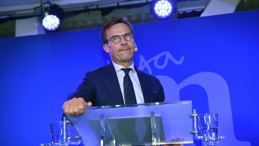 Ulf Kristersson, uno de los líder de la Alianza de Centroderecha Sueca, en una imagen de archivo.