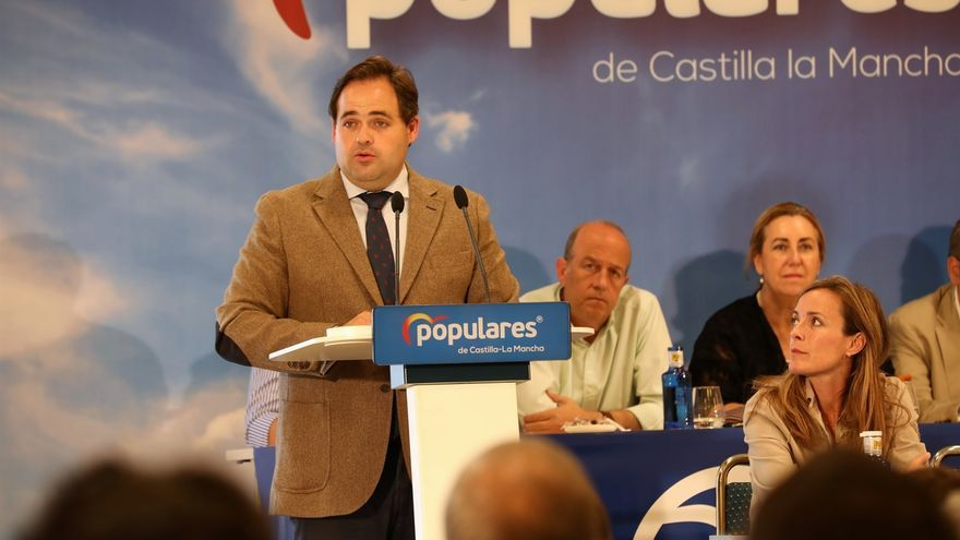 Paco Núñez, presidente del PP en Castilla-La Mancha
