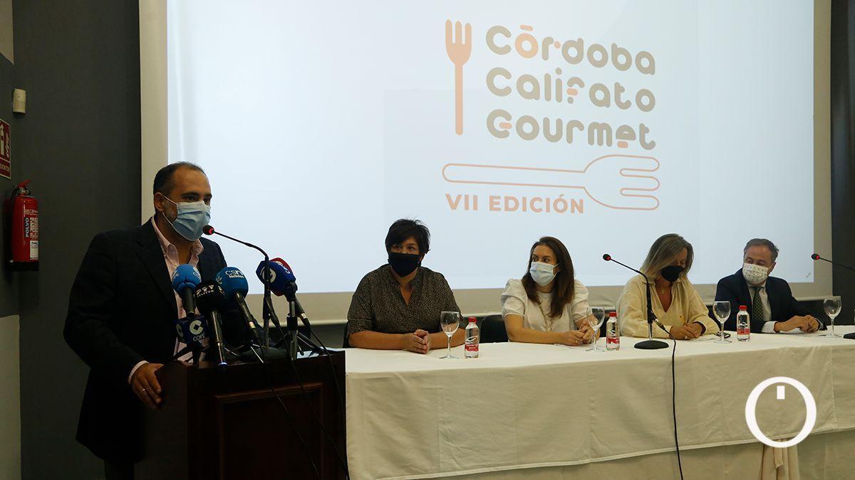 Presentación de Córdoba Califato Gourmet 2021.
