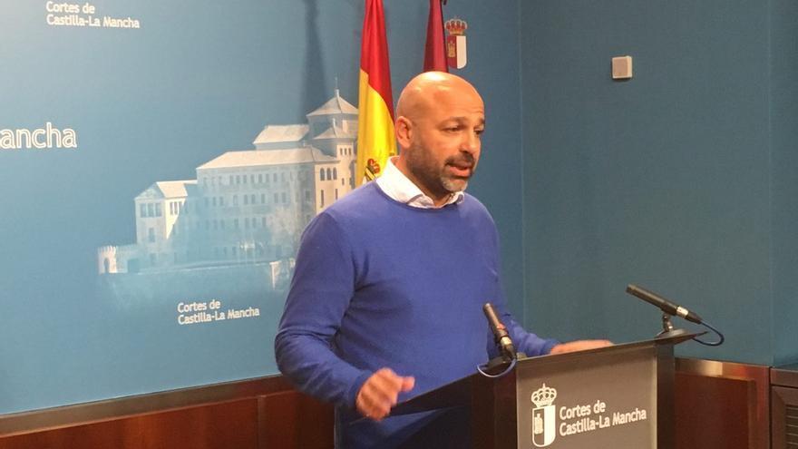 García Molina en rueda de prensa