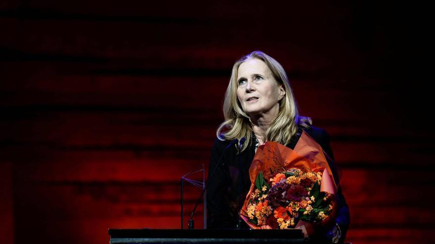 La académica sueca Katarina Frostenson, centro de la polémica por los supuestos abusos sexuales de su marido
