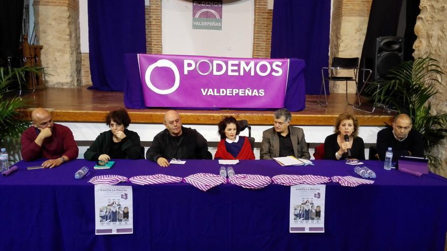 Presentación candidatos de Podemos en Castilla-La Mancha