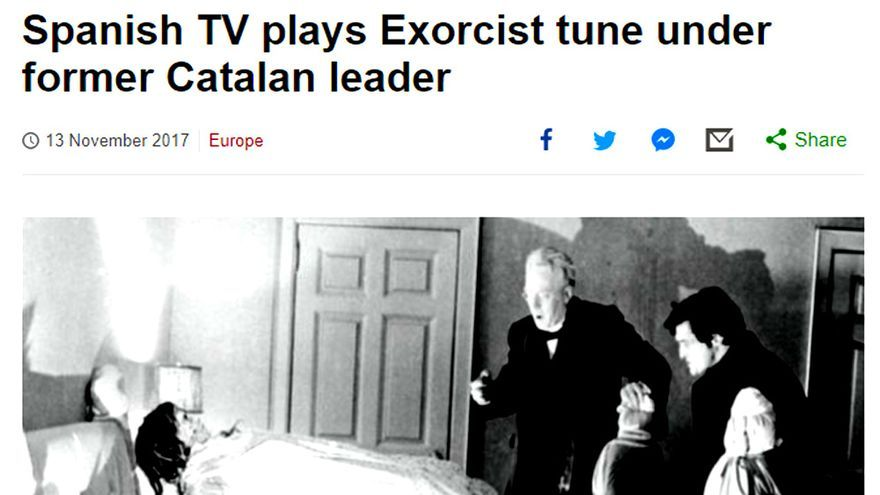 La BBC se hace eco de la polémica con TVE por la música de El Exorcista en Informe Semanal