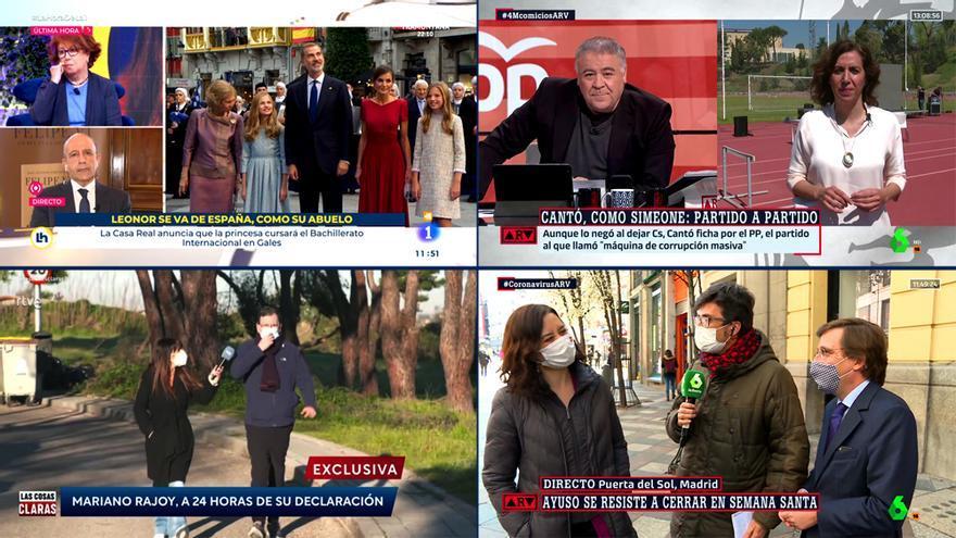Dos ejemplos para entender la diferencia entre TV pública y privada