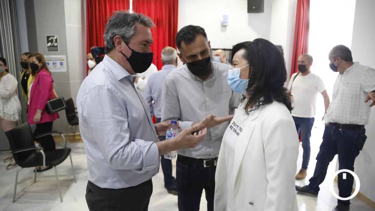 Juan Espadas mantiene un encuentro con los representantes de agrupaciones locales del PSOE de Córdoba, este verano antes de las primarias