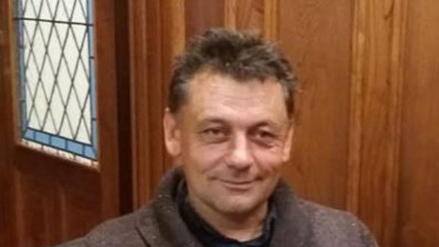 El concejal de IU en LLanes Javier Ardines. IZQUIERDA UNIDA.