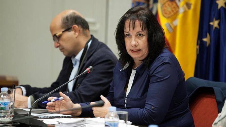 La consejera de Educación del Gobierno de Canarias, Soledad Monzón.