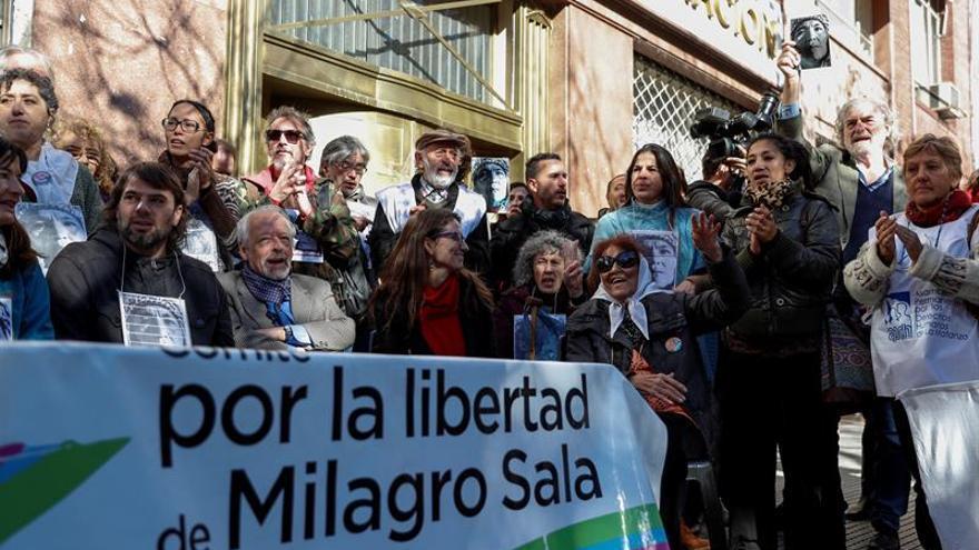 """La CIDH pide a Argentina """"medidas alternativas"""" a la prisión para Milagro Sala"""