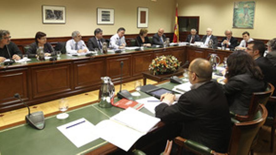 Reunión del Pacto de Toledo.