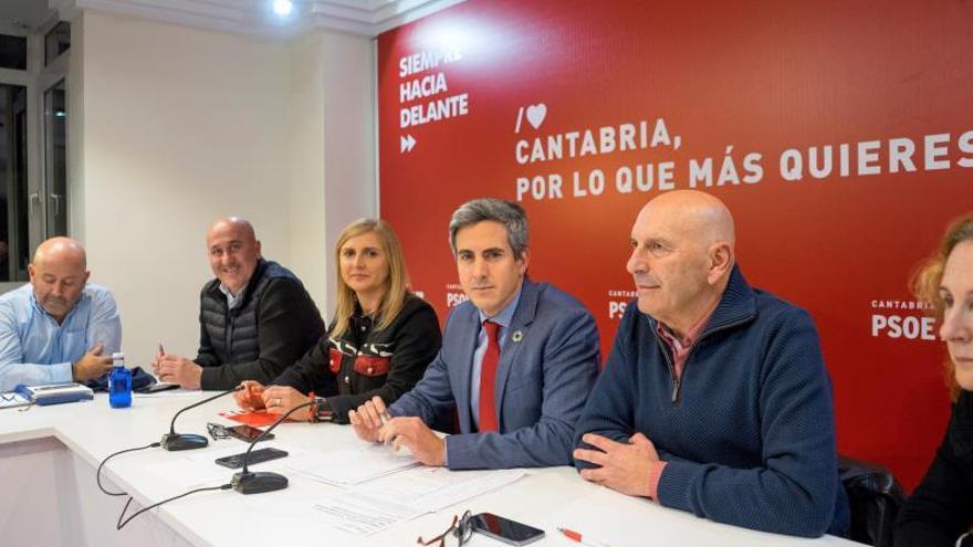 El PSOE continuará en el Gobierno de Cantabria