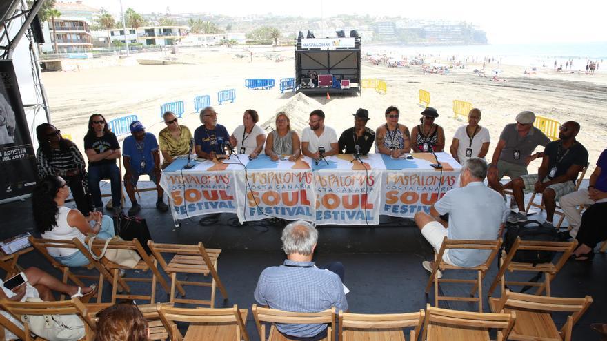 Presentación de la edición de 2017 de Maspalomas Costa Canaria Soul Festival