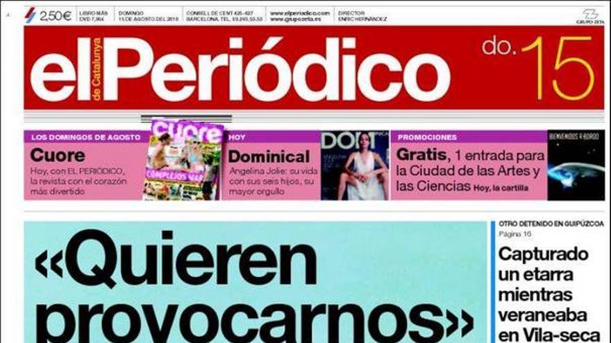 De las portadas del día (15/08/2010) #9