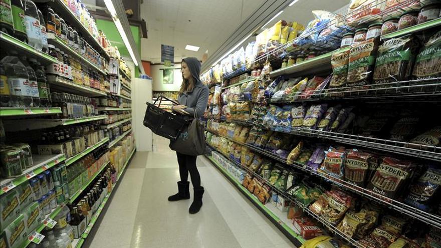 El índice de precios de consumo en EE.UU. bajó un 0,4 por ciento en abril