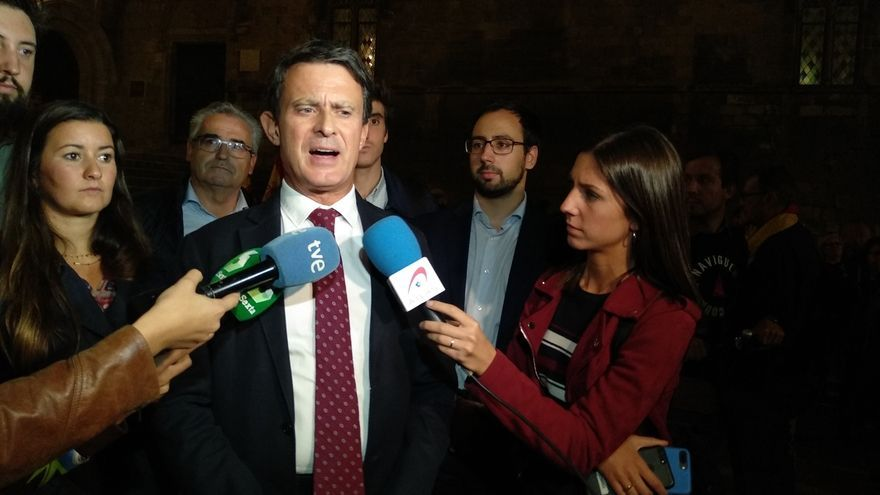Valls apunta a Arrimadas como sustituta de Rivera, pero pone el foco en qué cambios adoptará Cs