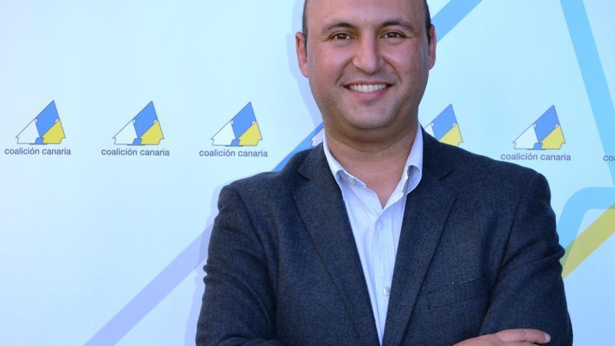 José Domingo Regalado, portavoz de CC en Granadilla.