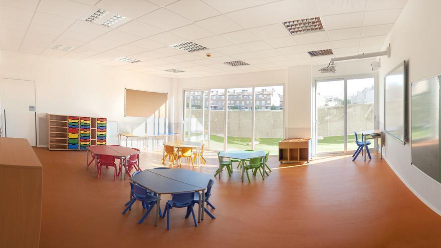Una de las aulas del Colegio Ánfora.