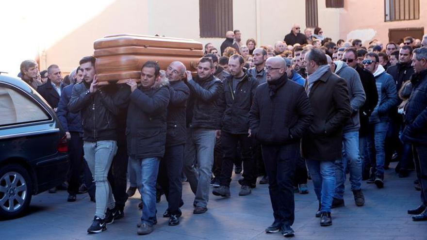 Funeral de José Luis Iranzo