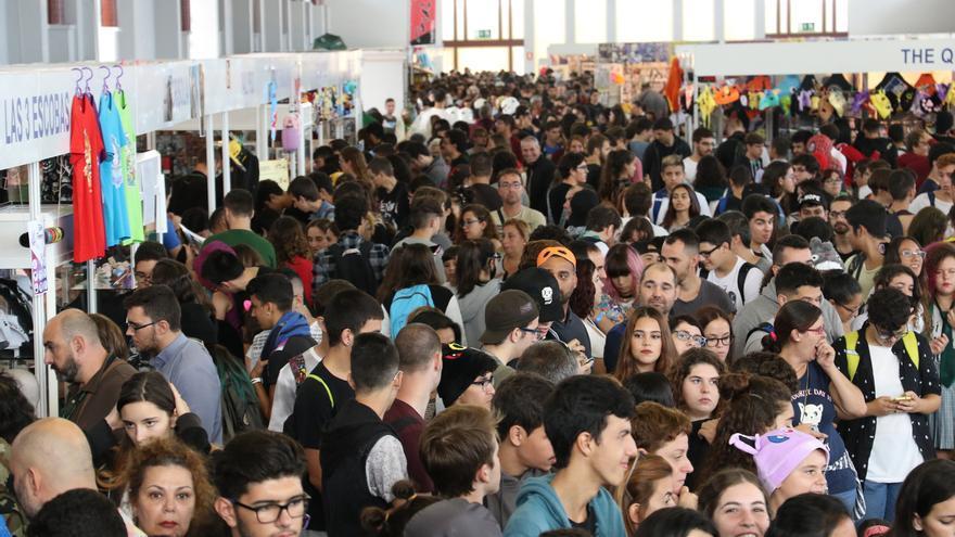 Celebración del Festival del Manga de Las Palmas y el Gran Canaria Cómic-Can 2017 en Infecar