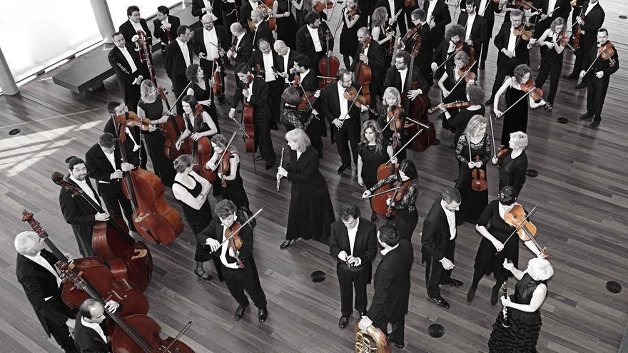 La Orquesta Sinfónica de Castilla y León ha cumplido 23 años como una de las agrupaciones sinfónicas de mayor proyección en España   Foto: NACHO CARRETERO