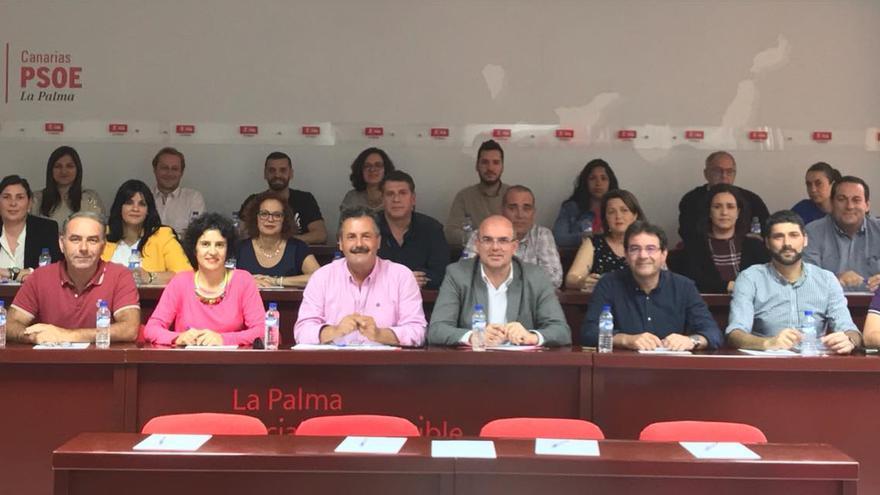 Comisión Ejecutiva Insular del PSOE en La Palma.