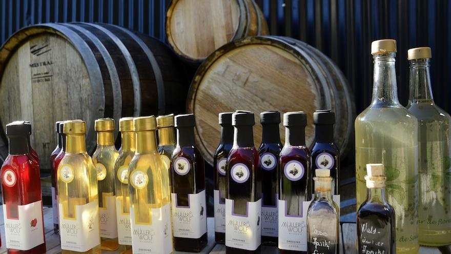 Vinagres y dressings cassis